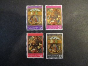 St Christopher #191-94 Mint Hinged - I Combine Shipping (1AC3)