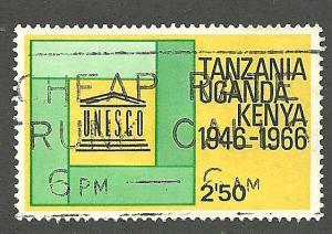 Kenya, Uganda and Tanzania  Scott#  171  used   VF