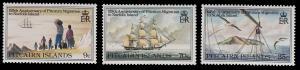 Pitcairn Islands 203 - 205 MNH