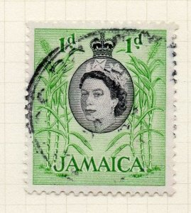 Jamaica 1956 Early Issue Fine Used 1d. 283888
