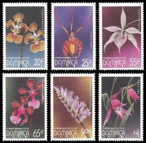Dominica 1997 Scott #1953-1958 Mint Never Hinged