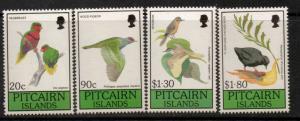 PITCAIRN ISLANDS SG385/8 1990 BIRDPEX 90 MNH