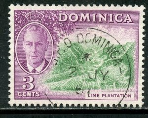 Dominica #  125, Used. CV $ 3.50