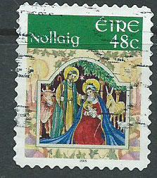 Eire  Ireland  SG 1766 FU self adhesive