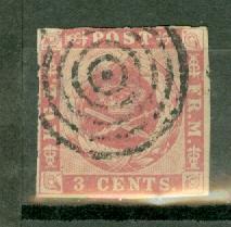 Danish West Indies 2 used CV $65