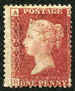 SG43 Penny Plate 189 (RA) M/Mint