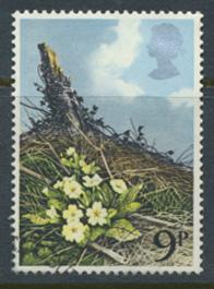 Great Britain  SG 1079 SC# 855 Used / FU with First Day Cancel - Wild Flowers...