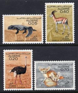 Algeria 374-377 Animals MNH VF