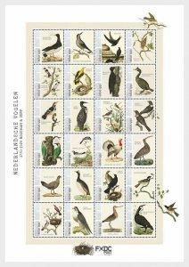 Stamps Caribbean Netherlands  - Birds 2021 (Saba) - Miniature Sheet.