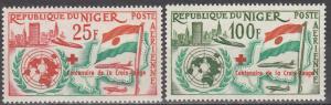 Niger #C28-9   MNH  CV $2.50 (S5716)