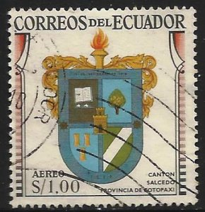 Ecuador Air Mail 1960 Scott# C363 Used