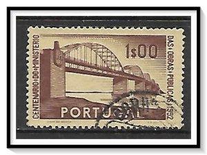 Portugal #757 Marshal Carmona Bridge Used