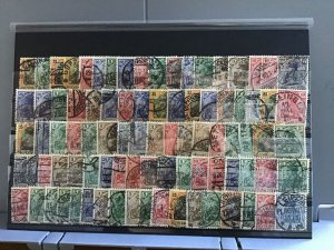 German Empire Germanía used stamps cat 180+ R25216