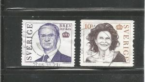 #2501 & #2502 King Carl XVI Gustaf & Queen Silvia