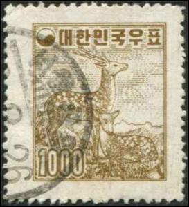 Korea SC# 262 Sika Deer 1000h Used