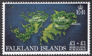 FALKLAND ISLANDS SCOTT B1
