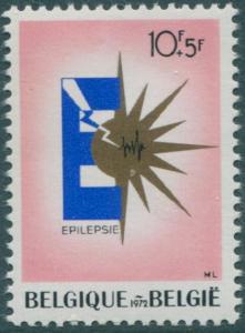 Belgium 1972 SG2288 10f+5f Epileptic Centre emblem MNH