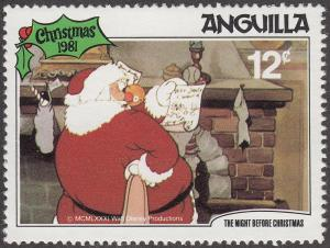 Anguilla #459 The Night Before Christmas MNH