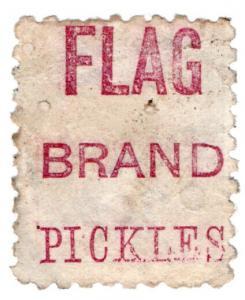 (I.B) New Zealand Postal : Adson (Flag Brand Pickles)