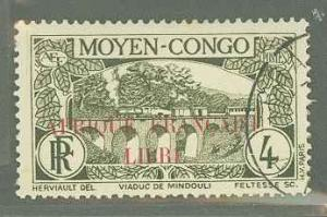 French Equatorial Africa 128  Used VF H