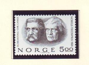 Norway Sc 797 1981 Nobel Prize stamp mint NH