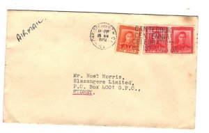 New Zealand 1951 Commercial Cover to Australia