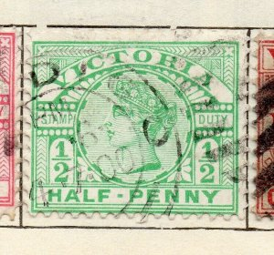 Victoria 1887-98 Early Issue Fine Used 1/2d. NW-11576