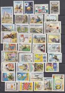 J28857, 1990-91 syria stamps mnh all dif #