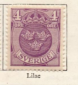 Sweden 1910-11 Early Issue Fine Mint Hinged 4ore. 252892