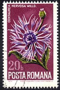 Romania # 2513 used ~ 20b Thistle