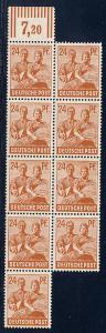 Germany AM-Post Scott # 565, b/9, mint nh