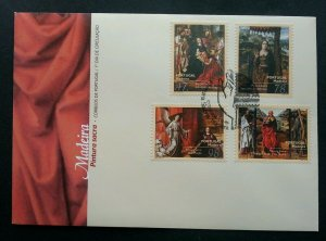 Portugal Sacred Painting 1996 (stamp FDC)