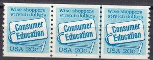US #2005 Plate Of Strip #3 MNH CV $9.00 (Z6120)