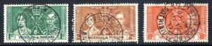 TRINIDAD  AND TOBAGO  --  1937  coronation  used