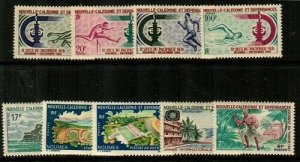 New Caledonia Scott 348-56 Mint hinged (Catalog Value $38.15)
