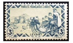 FRENCH OFFICES IN TURKEY - LEVANT 1921 - 22. SCOTT # 48. UNUSED