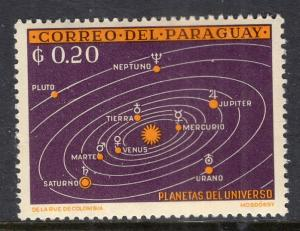 Paraguay 729 Space MNH VF