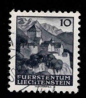 LIECHTENSTEIN Scott 196 Used stamp