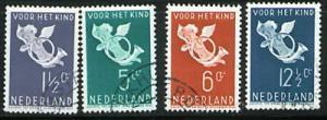 Netherlands Scott B90-3 complete 1936 set CV$6.05
