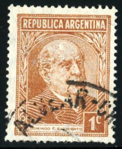 ARGENTINA #419, USED - AR0121