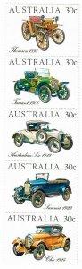 Australia 892 MNH Strip of 5 (SCV $2.40)