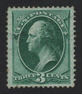 United States MINT Scott Number 158 MHR  VF  -  BARNEYS