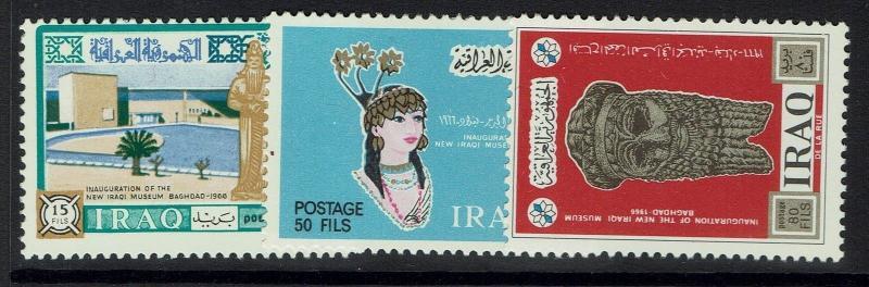 Iraq SC# 418-420, Mint Never Hinged - Lot 110616