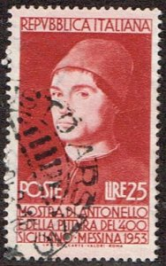 Italy # 621  Used