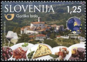 Slovenia. 2016. Tourism - Goriška Brda (MNH OG) Stamp