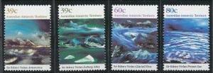 Australian Antarctic Territory L77-L80 MNH (1989)