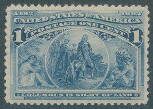 US Scott #230 Mint, VF, NH