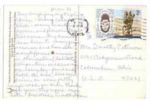 Kenya Scott # 74 2 Shilling Arts and Culture 1977 PC