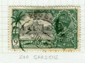 INDIA; POSTMARK fine used cancel on GV issue, Zoo Gardens