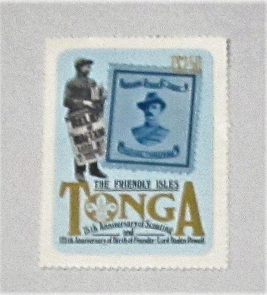 Tonga - 508, MNH. Scouting Marketing. SCV - $8.00
